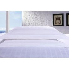 Satin Check Hotel Cotton Bedding Linen with Comforter Set (WS-2016198)