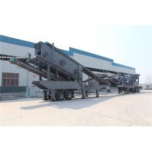Planta trituradora de residuos de construcción móvil ofrecida por el proveedor de China