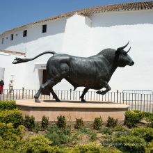 Popular Designs Brass Statue Cast Bronze Bull Sculpture for Decoration