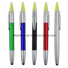 Caneta de toque de caneta de presente promoção com marca-texto (LT-C705)