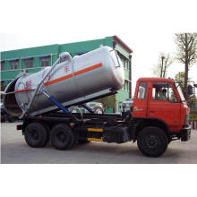 6*4 Dongfeng Chassis Vacuum Sewage Suction Truck for Exportation