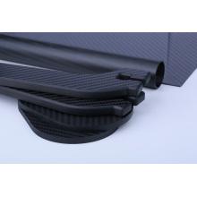 Propiedades de filipinas de la placa de fibra de carbono 100% real 3k
