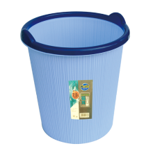 9336 Shunlu plastic trash can with handles