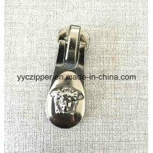 Nuevo diseño 8 # Slider de cremallera de metal de gran tamaño para bolsos de lujo