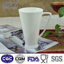Hochwertige weiße Großhandel Porzellan Tassen Großhandel