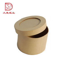 Fabricação profissional mais novo reciclável caixa de papel de forma de embalagem redonda