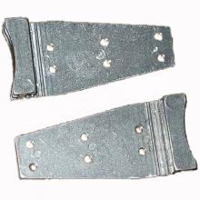 Zinc plated machine sand die parts aluminum casting molds