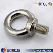 Lifting High Strength Stainless Steel Eye Bolt DIN580 M16