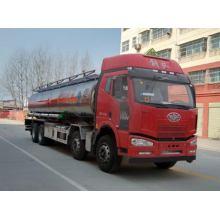 JIEFANG FAW 8X4 24000Litres Aluminum Alloy Tanker