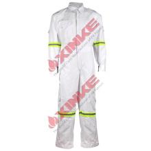 Bata ignífuga de 9oz C / N para la ropa de trabajo de soldadura