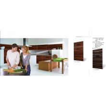 Muebles de cocina de panel plano modular (ZHUV)