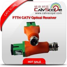 Csp-9008A FTTH CATV Optique Mini Récepteur / Mini Nœud Optique