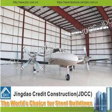 Сборное стальное здание для самолетов