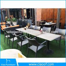 Chaise et chaises de jardin en rotin gris de vente chaude de loisirs