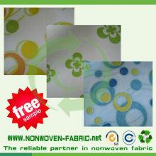 Tissu non tissé de couverture imprimée qui respecte l'environnement de matelas