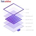 tekshine TOP 1 wholesale custom  poly solar panel 275watt 280w 285watt solar panel for households