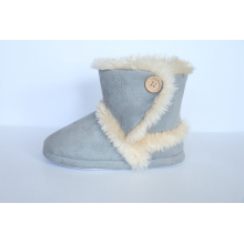 Woman′s High Boots with Soft Fur Linning