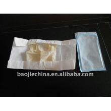 Poche stérile pour gants chirurgicaux en latex