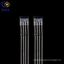 Dip led 255 rgb led diffused 4-pin rgb led diode