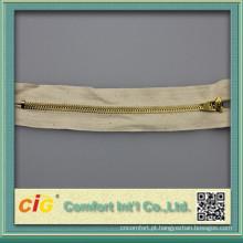 Zíper YG #4 com fita de algodão