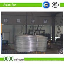 Сертификат ISO класса Ec, алюминиевый стержень без оболочки 1350, 9,5 мм