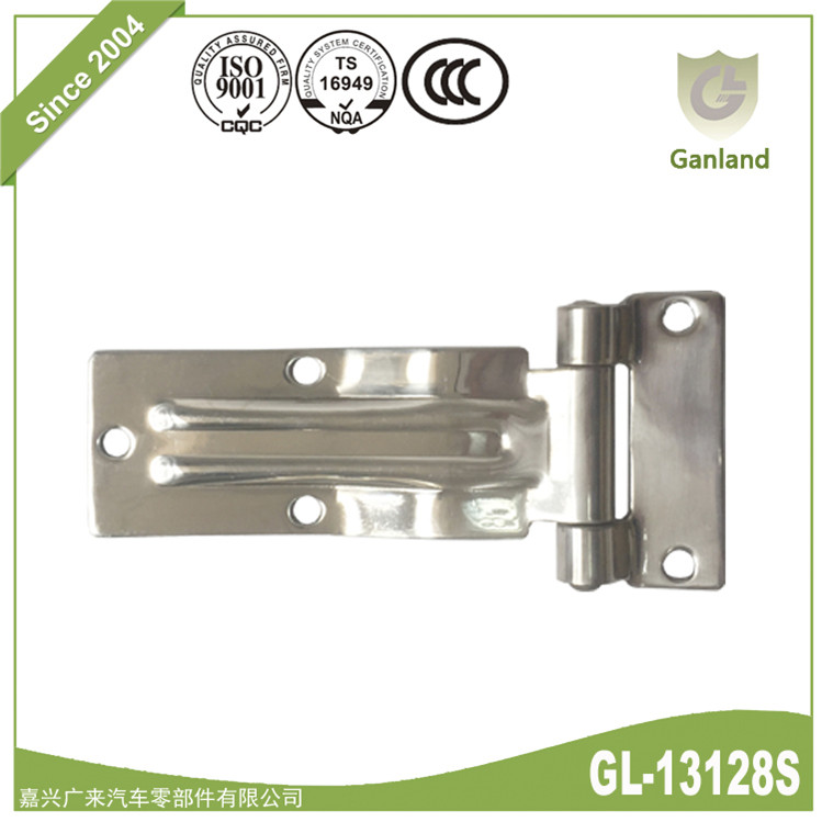 Truck Door Hinge Polished Stainless Steel 180 Length