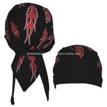 OEM Produce Customized Logo Printed Promotional Biker Snowboard Bandana Skull Caps Head Wrap