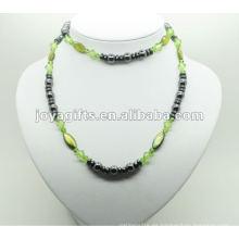 Moda hematita redondo Beads Wrap