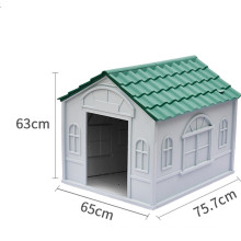 perro casa house dog pet cave cat house big size rabbit pet cage tier pvc pet house
