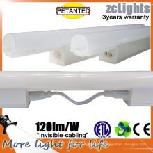 15W levou luz de prateleira fluorescente para a prateleira de gabinete de exibição e luz de prateleira de exibição de banheiro