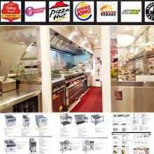 Shinelong Hot Sale fastfood Equipment With Wheels