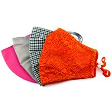 Masque anti-poussière en tissu de coton réutilisable