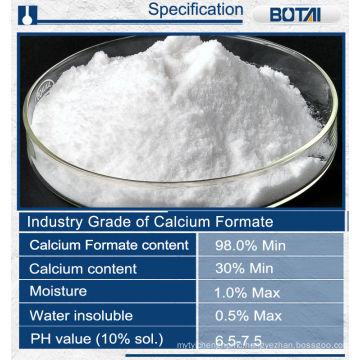 Calcium formate building material additives