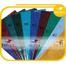 100% coton guinée brocart tissu africain tissu pas cher prix 10 verges / sac damassé bazin riche