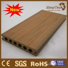 Projeto 2015 novo, textura de madeira da grão, revestimento de WPC.