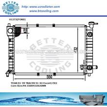 Radiator Ford Escort /ZX2 91-02 TRACER 91-99 MT OEM:F0C68005AD/BB/BD/DB/DD/KD/
