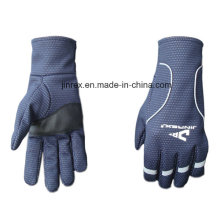 Windproof Mountain Bike Motocicleta Ciclismo Gel Pads Full Finger Glove