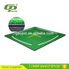 Новинка 3D Китай завод горячей продажи крытый искусственная трава гольф мат