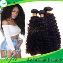 Grade 7A Haarverlängerung, unverarbeitetes brasilianisches menschliches Haar