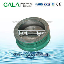API 594 swing wafer check valve with with spring