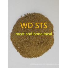 Refeição de carne e ossos para forragem com alta qualidade