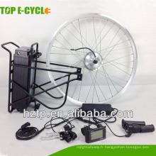36v250W avant arrière kit de vélo électrique pas cher avec écran LED
