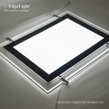 CF5 Real estate agent magnetic type A4 LED window led light display