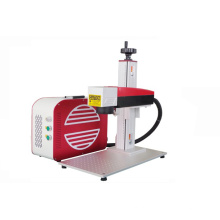 Tiefe 50W Raycus-Faserlasermarkiermaschine