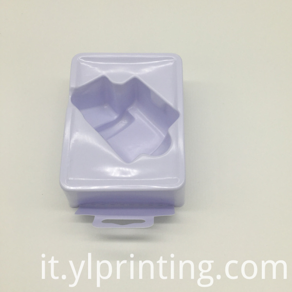 square plastic blister tray