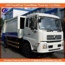 Heavy 6 Wheels Dongfeng Tianjin 6tons Compressed Garbage Truck 8m3 Compactor Garbage Truck