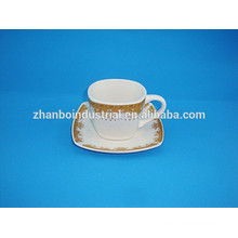 300CC Turkish Porcelain Coffee Cup With Saucer