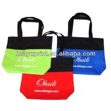 Sac à provisions pliable / sac à provisions non tissé PP / sac fourre-tout promotionnel AT-1090