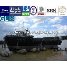 airbag marinho de borracha inflável para o navio e o barco