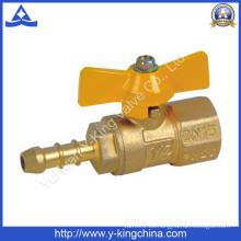 Válvula de gas de latón En331 para gas (YD-1035)